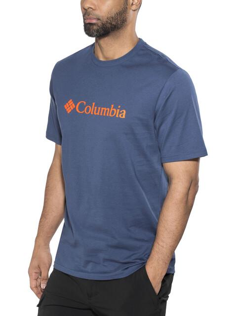 Columbia CSC Basic Logo - T-shirt manches courtes Homme - bleu